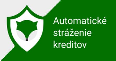 Automatické stráženie kreditov