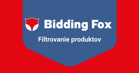 Ako filtrovať produkty - 1. diel