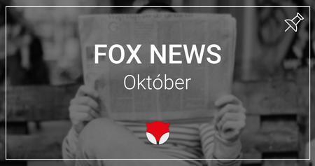 Októbrové lišiacke novinky