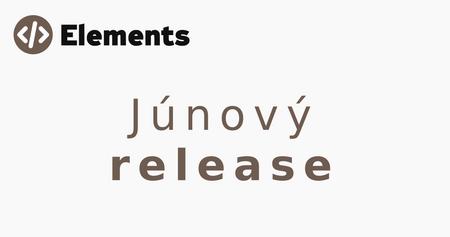 júnový release