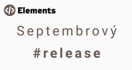 Septembrový release