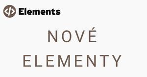 Nové elementy