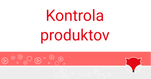 Kontrola  produktov