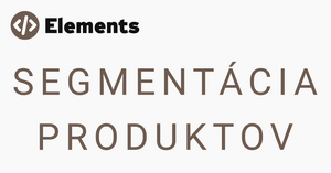 segmantácia produktov