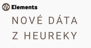 Nové dáta z Heureky